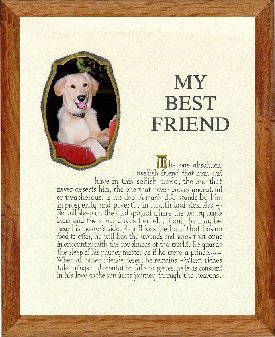 My Best Friend Pet Frame